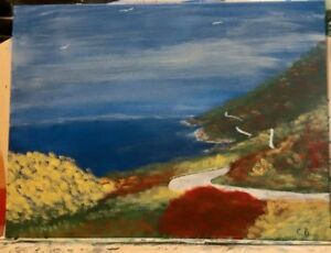 painting of the Cabot Trail N.S.