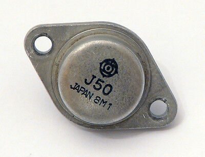 Hitachi 2SJ50 Mosfets  !!!!  Originale ! Extrem Selten !!! Top Zustand !!!! Hitachi 50