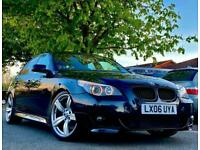 FULLY LOADED - 2006 BMW 535D 3.0 Twin Turbo M Sport Auto - CARBON BLACK / 530D
