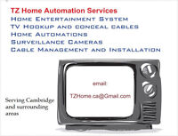 Cambridge Home Entertainment System & TV Wall Mount