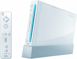 Nintendo Wii (with one controller and free game)