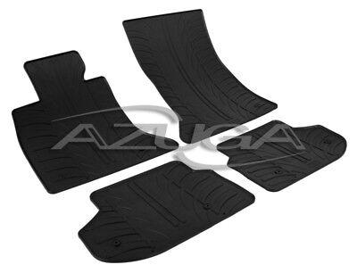 Gummimatten für BMW 5er F10/F11 Touring ab 7/2013 Gummi-Fußmatten Reifen-Design