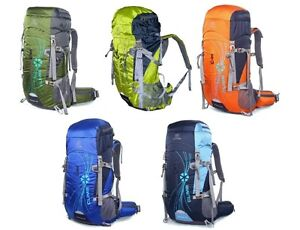 New School 50L Cycling Hiking Travel  Backpack Camping Luggage