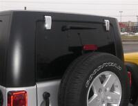 Putco - Insertions Chrome pour Penture de Hayon Jeep Wrangler
