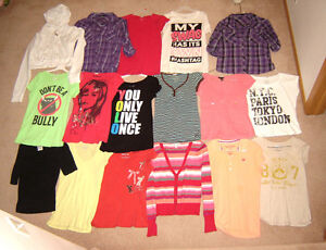 Girls Tops, Shorts, Pants, Swimsuits - size 12, 14