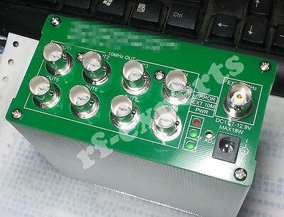 10mhz Distribution Amplifier Ocxo Frequency Standard 8 Port Output