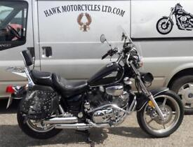 EXCEPTIONAL 1999 YAMAHA XV1100 VIRAGO, NEW BAGS,SCREEN AND MIRRORS 23388 MILES,