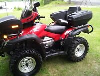 2011 Rincon, trailer and 4 new tires on spare wheels
