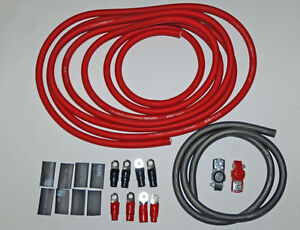 XS Power Custom Heavy Duty 1-0 Gauge Battery Cable Kit - NEW!
