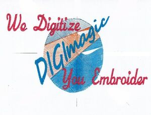 ..MACHINE EMBROIDERY DIGITIZING...FREE ESTIMATES