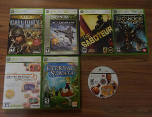 6 XBOX360 games, and External HD DVD player**can also hook to PC