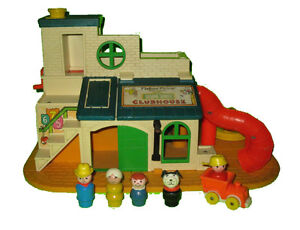 Fisher Price #937 Play Family Sesame Street Clubhouse