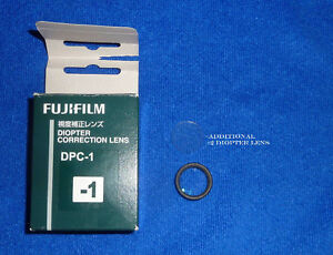 FUJIFILM F DPC-1 Diopter Correction Adjustment Lens -1 for X-Pro