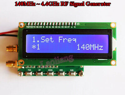 1pcs 140mhz-4.4ghz Frequency Digital Lcd Rf Signal Generator With Sweep Function