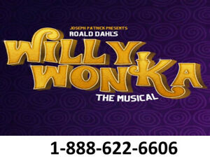 >>WILLY WONKA THE MUSICAL TICKETS<< BUY THEM TODAY!