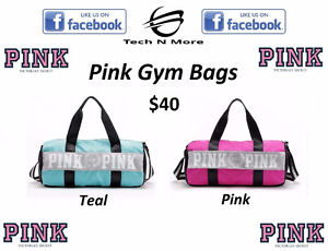 Pink Gym Bags (2 Colors)