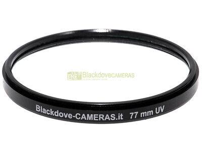 77mm. filtro UV Blackdove-cameras Lente ultravioletto per obiettivi 77 mm Filter