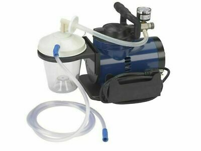 New Dental Medical Hygienist Portable High Suction Vacuum Unit Pump Tubing