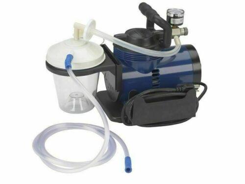 NEW DENTAL  MEDICAL HYGIENIST PORTABLE HIGH SUCTION VACUUM UNIT PUMP / TUBING
