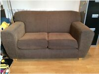 Super Comfortable 2 -Seater Sofa - Chocolate Brown