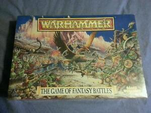 Warhammer 3rd Edition Boxed Game New Sealed