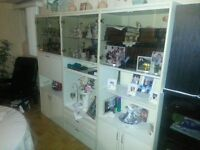 Used wall unit. 3 pieces. In good condition