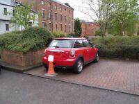 Secure car parking space, Merchant City