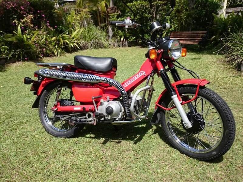 2013 Honda Ct110 Postie Bike As New Motorcycles Gumtree
