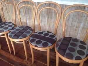 Original Thonet Bentwood dining chairs - easy to reupholster Murwillumbah Tweed Heads Area Preview