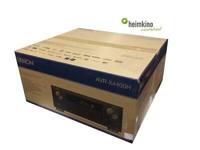 Denon AVR-X4400H AV-Receiver, Auro 3D, HDR, HEOS,HDCP2.2(Silber) NEU Fachhandel