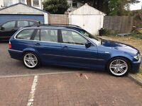 2002 BMW 3 SERIES 2.9 330d SE Touring 5dr Cream Leather @07445775115