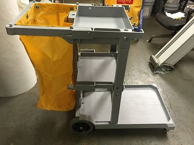 Harper Janitorial Cart Hc0006 Brand New In Box