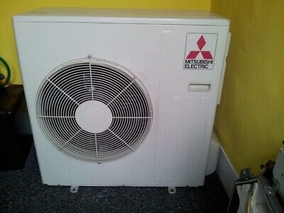 mitsubishi air conditioning Unit With Controler 4 Way Cassete