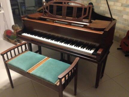 Grand Piano - 1920s Rogers Baby Paradise Point Gold Coast North Preview