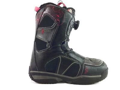 Salomon Ivy Womens Black Size 7 Boa Snowboard Boots