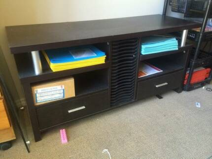 solid wood TV stand Meadowbrook Logan Area Preview