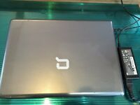 HP Compaq Presario V6500 laptop, AMD Turion 64 X2, new windows 7, 4Gb ram, 200GB hard drive.