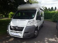 Romahome R30 SWB motorhome reg 2009 loads of extras including cab aircon fiamma awning & bike rack