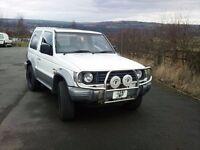 Mitsubishi pajero 4x4 auto diesel swb not shogun