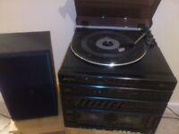Hi fi stereo record player