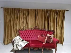 Stunning Silk Dupion Curtains Gumdale Brisbane South East Preview