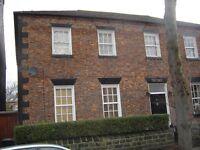 Large; attractive-Georgian; 1 bedroom; furnished flat; Sheffield 7; September; £590/m