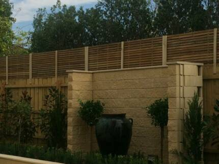2400 X 500 Total blockout hardwood corral fence extensions