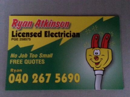 Electrician Available 0 Credit Card Facilities Ridgehaven Tea Tree Gully Area Preview