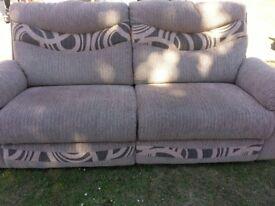 Taupe sofa IMMACULATE £100