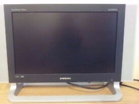 Samsung SyncMaster 730MW Widescreen 17in LCD Monitor/TV - Silver