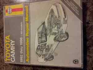 Haynes Manual for Toyota Camry 92'-96'