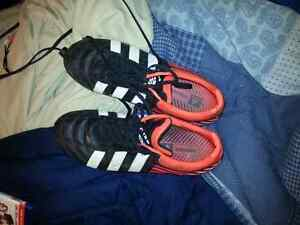 Adidas metal studded rugby cleats (near perfect) size 11.5