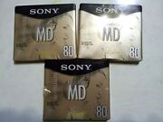Sony MiniDisc New