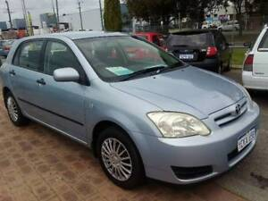 2006 TOYOTA COROLLA ASCENT SECA ZZE122R 5D AUTOMATIC Kenwick Gosnells Area Preview